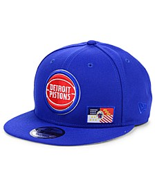 Detroit Pistons Flawless Flag 9FIFTY Cap