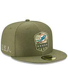 Miami Dolphins On-Field Salute To Service 59FIFTY-FITTED Cap