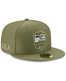 Seattle Seahawks On-Field Salute To Service 59FIFTY-FITTED Cap