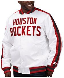 Men's Houston Rockets The D-Line Starter Satin Jacket