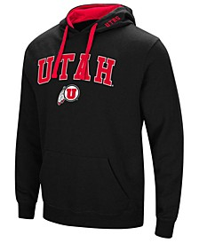 Men's Utah Utes Arch Logo Hoodie