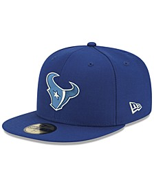 Houston Texans Basic Fashion 59FIFTY-FITTED Cap