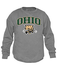 Men's Ohio Bobcats Midsize Crew Neck Sweatshirt