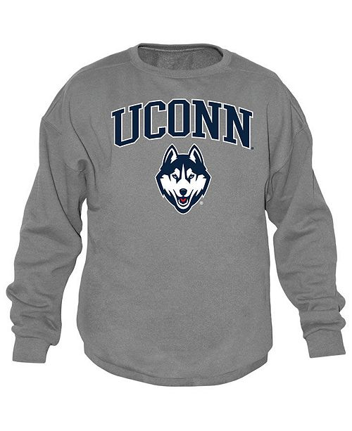 Top of the World Men's Connecticut Huskies Midsize Crew Neck Sweatshirt