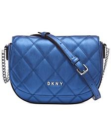 Sofia Leather Saddle Bag, Created for Macy's