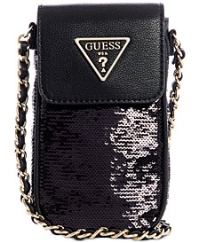 Delon Sequin Crossbody