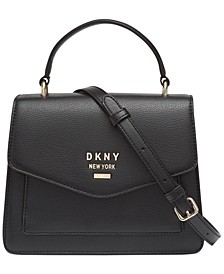 Whitney Leather North South Top Handle Satchel, Created For Macy's
