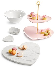 Valentine's Serveware Collection, Created for Macy's