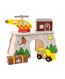 Mountain Rescue Wooden Train Accessory