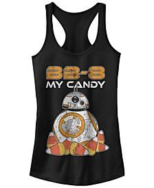 Star Wars Women's Bb-8 My Candy Halloween Racerback Tank Top