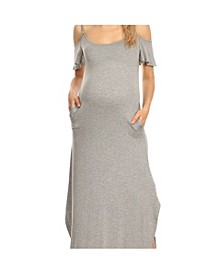 Plus Size Maternity Lexi Maxi Dress