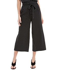 Wide-Leg Cropped Capri Pants, Created for Macy's