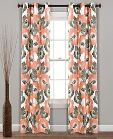 Julie Floral Blackout Curtain Sets