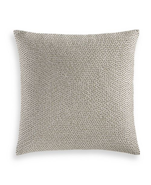 """Hotel Collection Terra 18"""" x 18"""" Decorative Pillow, Created for Macy's"""