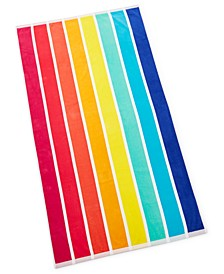 Vertical Rainbow Beach Towel, Created for Macy's