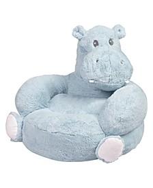 Hippo Plush Children's Character Chair