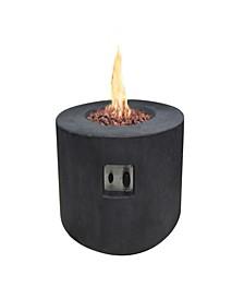"34"" Venice Outdoor Fire Pit Table Liquid Propane"