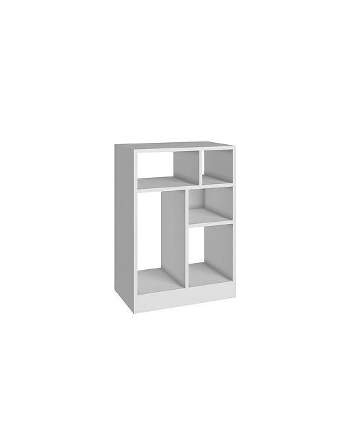 Manhattan Comfort Accentuation Durable Valenca Bookcase