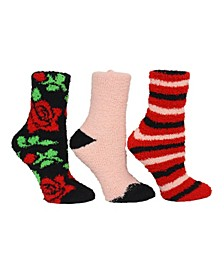 Floral Cozy Sock Giftbox, 3-Pack