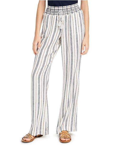 Rewash Juniors' Striped Soft Pants