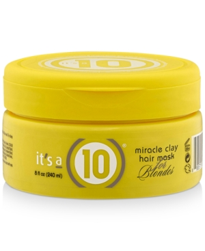 Miracle Clay Hair Mask For Blondes