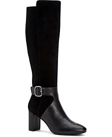 Women's Step 'N Flex Nelsonnn Wide-Calf Dress Boots, Created for Macy's