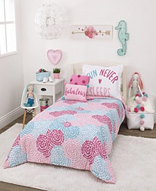 Pom Pom Party 2-Piece Twin Bedding Set