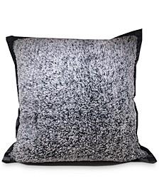 "Reversible Velvet Pinsonic Fleece 20"" Square Decorative Pillow"
