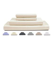 RENAURAA Luxury Solid Full Sheet Set