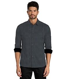 Print Long Sleeve Sport Shirt