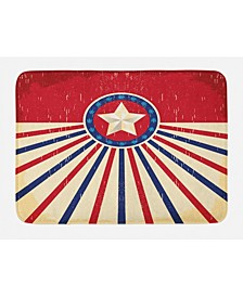 Texas Star Bath Mat
