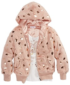 Big Girls 2-Pc. Unicorn Jacket & Unicorn Tank Top Set