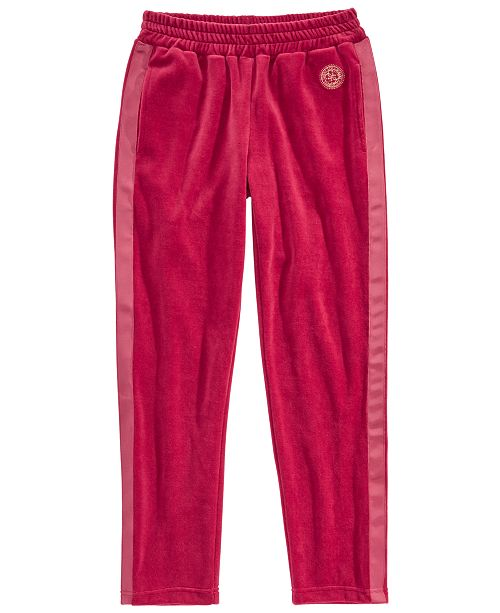 GUESS Big Girls Velour Active Pants