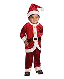 Big and Toddler Boys Santa Suit Costume
