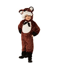 Toddler Girls and Boys Fox Deluxe Costume
