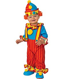 Toddler Girls and Boys Clown Deluxe Costume