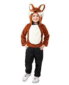 Big and Toddler Girls and Boys Jose the Fox Hoodie Costume