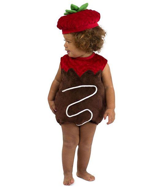 BuySeasons Big Girls Chocolate Strawberry Costume