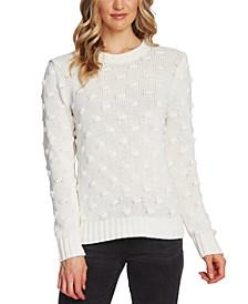 Petite Cotton Popcorn Sweater