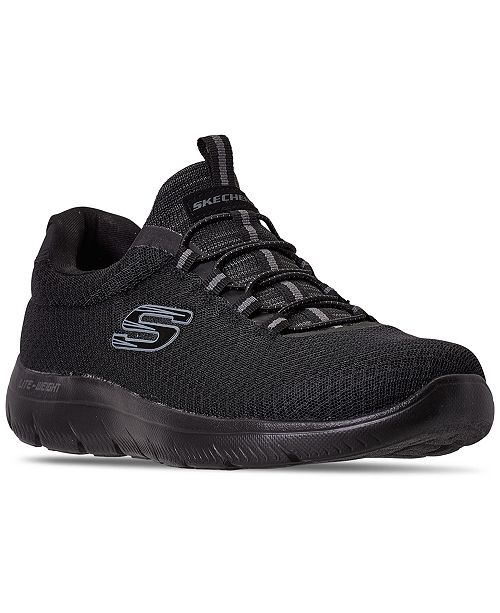 Skechers Men's Summits Slip-On Athletic Training Sneakers from Finish Line