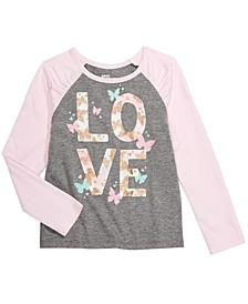 Toddler Girls Love Butterfly T-Shirt, Created For Macy's