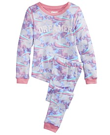 Big Girls 2-Pc. Printed Pajamas Set