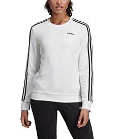Women's Essentials 3-Stripe Fleece Sweatshirt