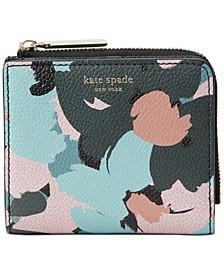 Margaux Brush Bloom Bifold Wallet