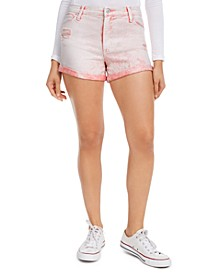 Juniors' Distressed Denim Shorts