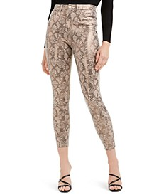 Poison Python Stiletto Pants