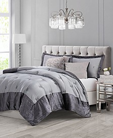 Functional Glam 3-Piece Queen Comforter Set