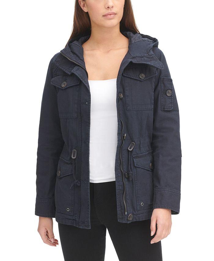 Levi's - Hooded Military Jacket