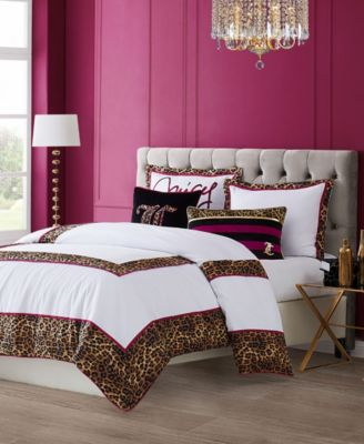 Regent Leopard 3-Piece Queen Comforter Set