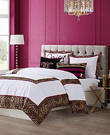 Juicy Couture Regent Leopard 3-Piece Queen Comforter Set
